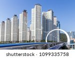 korea busan city | Shutterstock . vector #1099335758