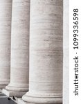 columns   in old city buiding | Shutterstock . vector #1099336598