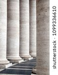 columns   in old city buiding | Shutterstock . vector #1099336610