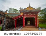 hue imperial city | Shutterstock . vector #1099343174
