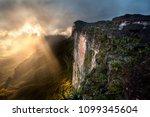 sandstone ridges of mount... | Shutterstock . vector #1099345604