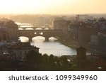 sunset from piazzale... | Shutterstock . vector #1099349960