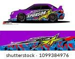 rally car vector livery....   Shutterstock .eps vector #1099384976