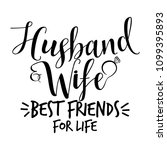 husband and wife best friends... | Shutterstock .eps vector #1099395893