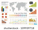 infographics set and... | Shutterstock .eps vector #109939718