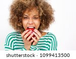 portrait of healthy young... | Shutterstock . vector #1099413500