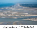 Small photo of aerial photography of the Baie de Somme in the north of France