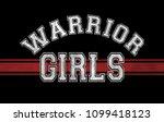varsity slogan graphic | Shutterstock . vector #1099418123