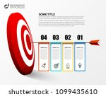 infographic design template.... | Shutterstock .eps vector #1099435610