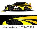 rally car vector livery.... | Shutterstock .eps vector #1099439939