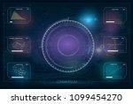 hud. hud or illustration....   Shutterstock .eps vector #1099454270