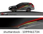suv car graphics for vinyl wrap.... | Shutterstock .eps vector #1099461734