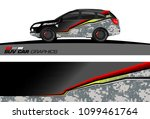 suv car graphics for vinyl wrap.... | Shutterstock .eps vector #1099461764