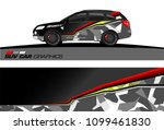 suv car graphics for vinyl wrap.... | Shutterstock .eps vector #1099461830