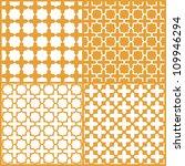 moroccan lattice seamless... | Shutterstock .eps vector #109946294