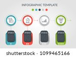 timeline infographic design...   Shutterstock .eps vector #1099465166
