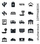 set of vector isolated black... | Shutterstock .eps vector #1099468034