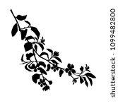 vector silhouette of the... | Shutterstock .eps vector #1099482800