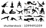 sport and yoga set | Shutterstock .eps vector #1099491059