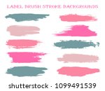 craft label brush stroke... | Shutterstock .eps vector #1099491539