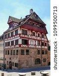 albrecht duerer house ... | Shutterstock . vector #1099500713