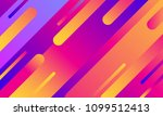 geometric cover. gradient... | Shutterstock .eps vector #1099512413