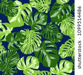 vector seamless pattern with... | Shutterstock .eps vector #1099514486