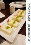halawet el jibn   sweet roll...   Shutterstock . vector #1099521470