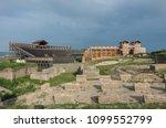 reconstruction of roman... | Shutterstock . vector #1099552799