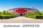 moscow  russia   may 11  2018 ... | Shutterstock . vector #1099559720