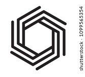 simple vector logo modern style....   Shutterstock .eps vector #1099565354