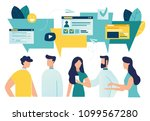 vector illustration  flat style ... | Shutterstock .eps vector #1099567280