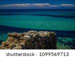 antiparos gr  cycladic beauty.  ... | Shutterstock . vector #1099569713