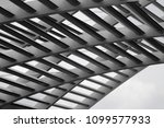 metal grid structure. abstract... | Shutterstock . vector #1099577933