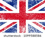 vintage union jack  great... | Shutterstock .eps vector #1099588586