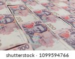 ukrainian money backgrounds | Shutterstock . vector #1099594766
