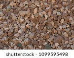 crushed stone of different... | Shutterstock . vector #1099595498