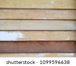painted old wood and plank wall ... | Shutterstock . vector #1099596638