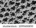 stucco wall pattern with rough... | Shutterstock . vector #1099600850