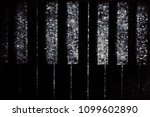 old piano vintage background | Shutterstock . vector #1099602890