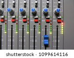 professional sound control panel | Shutterstock . vector #1099614116