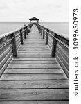 Closeup Of Fishing Pier With...
