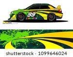 rally car wrap vector designs....   Shutterstock .eps vector #1099646024