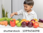 healthy and nutrition concept....   Shutterstock . vector #1099656098
