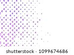 light purple vector pattern... | Shutterstock .eps vector #1099674686