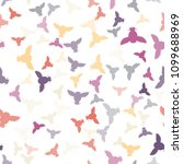 seamless vector pattern with... | Shutterstock .eps vector #1099688969