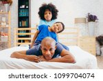 african american family of...   Shutterstock . vector #1099704074