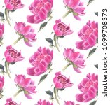 seamless pattern with... | Shutterstock . vector #1099708373