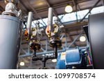 the pipeline system is equipped ... | Shutterstock . vector #1099708574