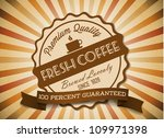 vector grunge retro vintage...   Shutterstock .eps vector #109971398